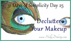 how to declutter your makeup and simplify your life